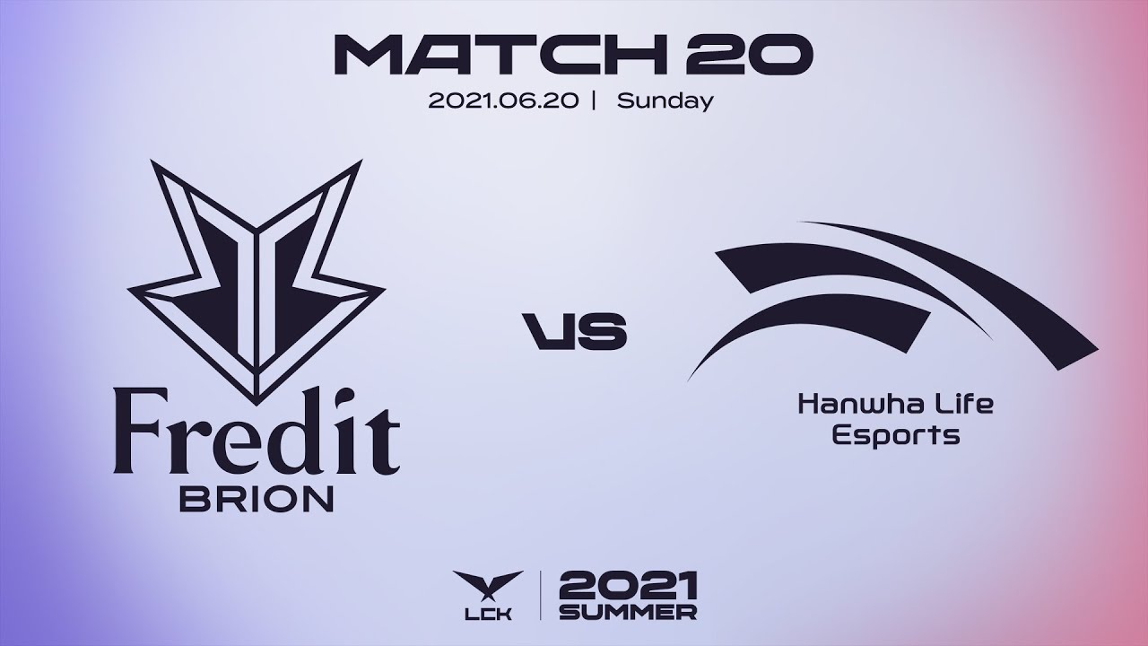 프레딧 vs. 한화생명 | 매치20 하이라이트 | 06.20 | 2021 LCK 서머 스플릿