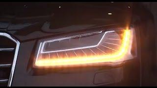 Audi A8|アウディA8【流れるウインカー】シーケンシャル点灯 マトリックスLED Matrix LED headlights thumbnail