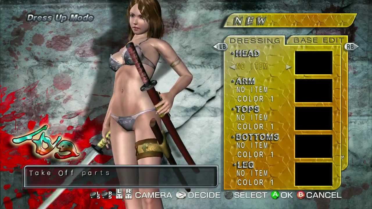oneechanbara bikini samurai squad