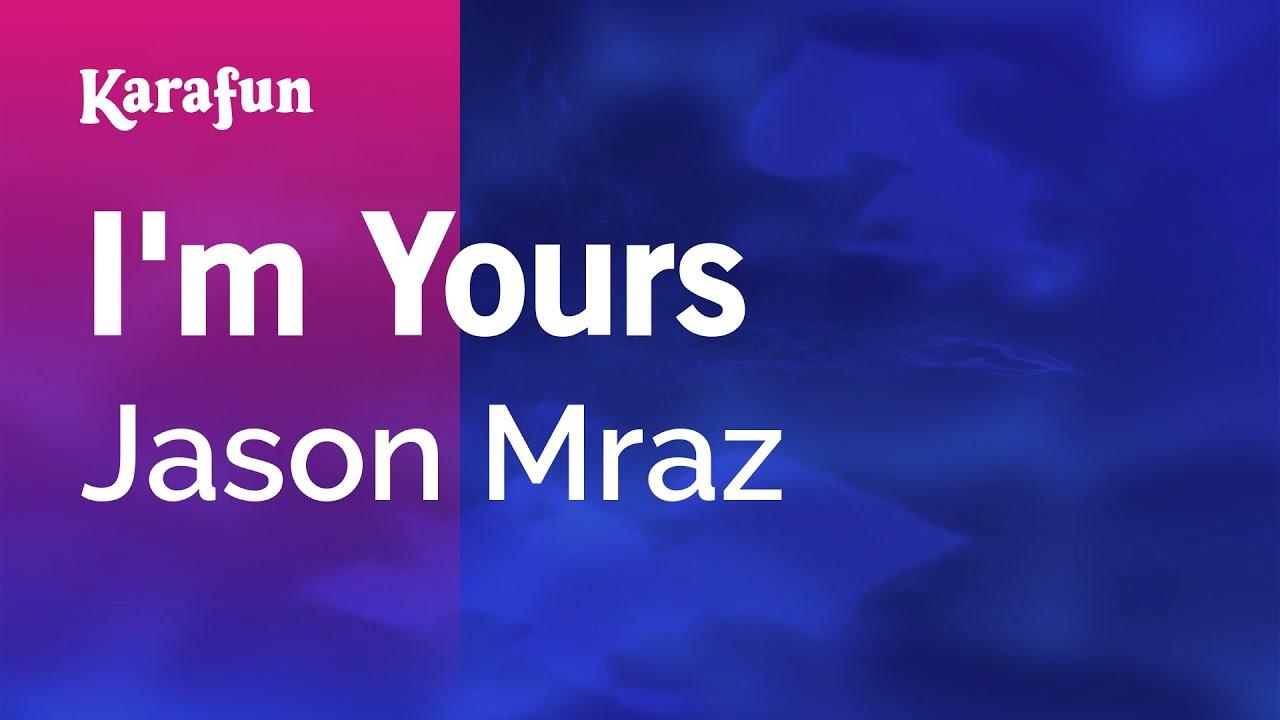 I'm Yours - Jason Mraz | Karaoke Version | KaraFun