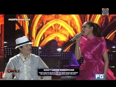 (Duet) Sarah Geronimo and JC Regino - Emotional Tribute to April Boy Regino