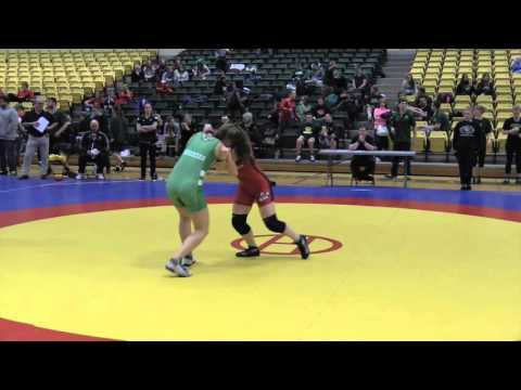 2016 Golden Bear Open: 55 kg Rachel Alder vs. Alyx Paulson