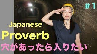 Koyata's Japanese Proverb Lesson#1: 穴があったら入りたい with my terrible experience.lol