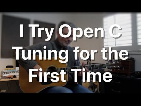 I Try Open C Tuning For The First Time | Tom Strahle | Pro Guitar Secrets