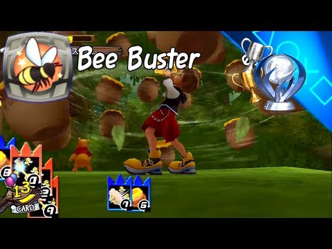 Trophy Guide - Bee Buster - Defeating 70 Bees Within 1:40 — Kingdom Hearts HD 1.5 ReMIX