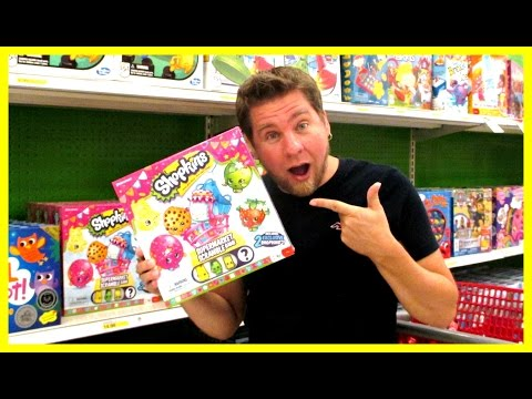 TOY HUNTING Ep. 35 - Frozen Fever Dolls, Shopkins Game, Play Doh, And My Little Pony