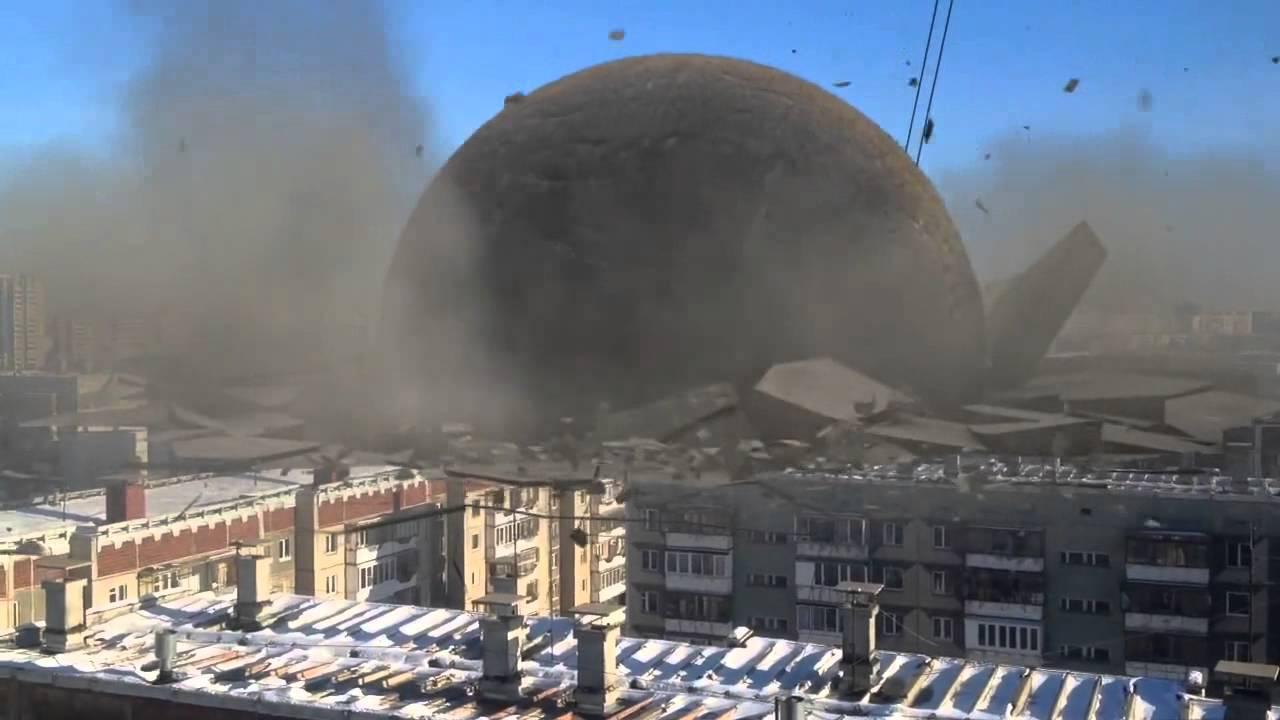 Метеорит упал в Челябинске - YouTube