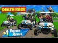 *NEW* DEATH RACE Custom Gamemode In Fortnite Battle Royale!