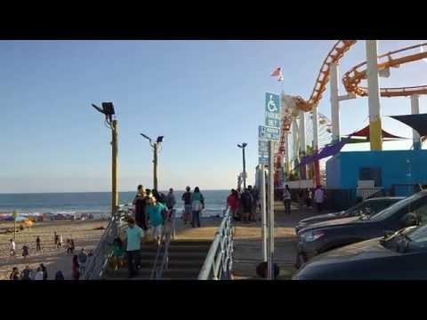 Del Perro Pier from GTA 5 in real life (LA, Santa Monica beach, California)20160710 18 48 08