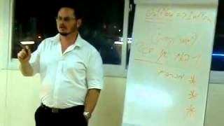 יגאל סורוצקי בהרצאה על שיווק - ייעוץ עסקי