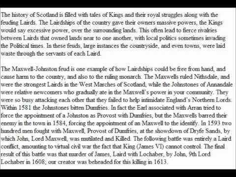 Lochaber highland - Laird of Scotland