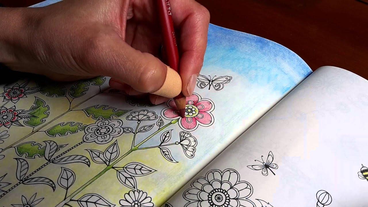 Secret Garden In Pastel Pencil Part 1