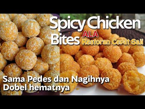 resep-spicy-chicken-bites-ala-restoran-cepat-saji,-pedesnya-nagih!!!