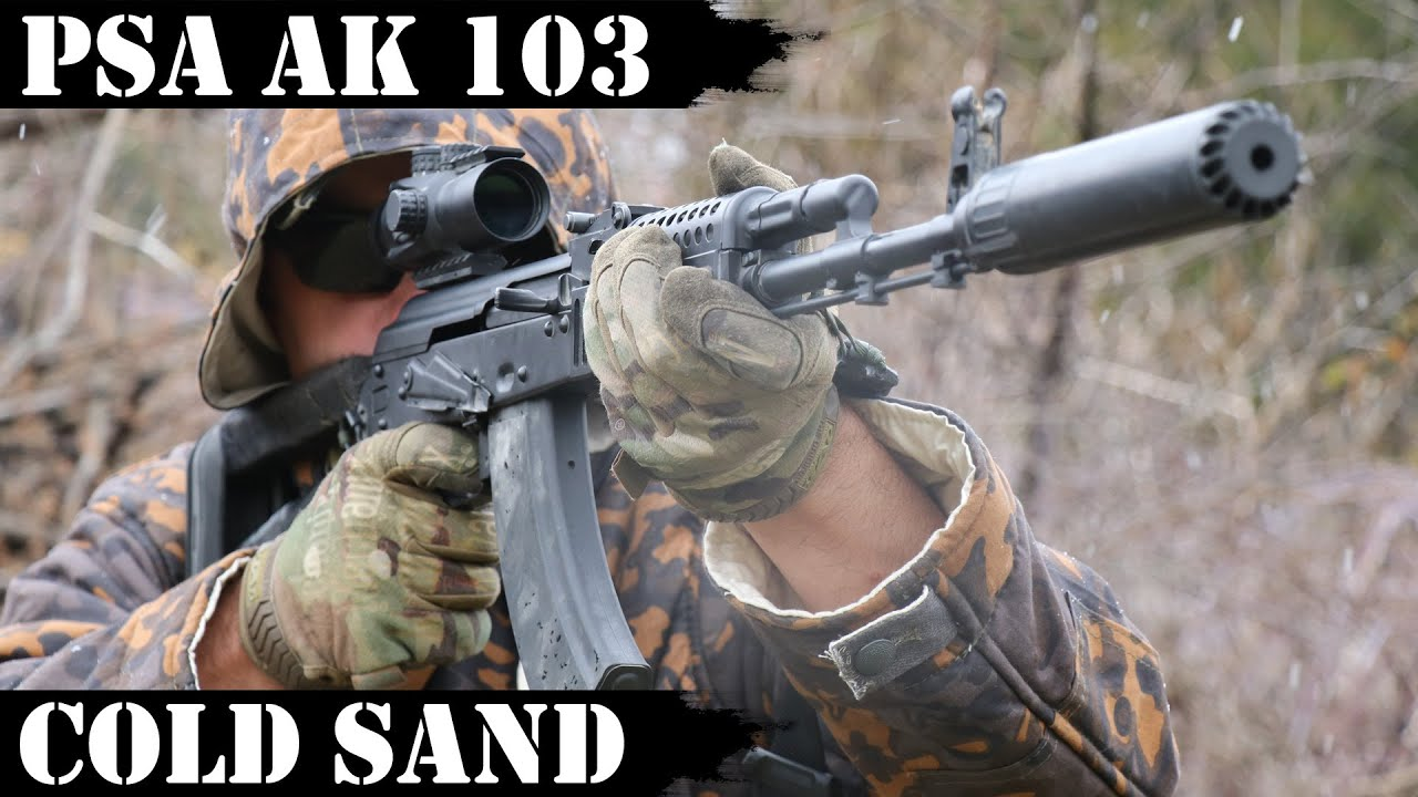 PSA AK103 - Cold Sand. 3,000 Shots Fired!