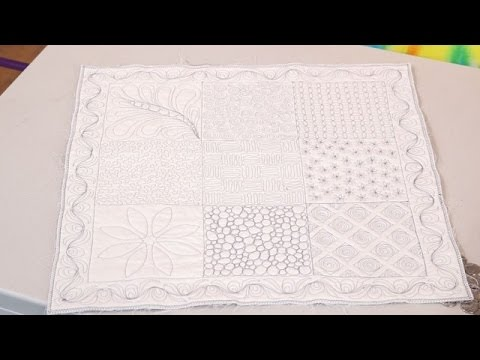 Beginners Free Motion Quilting with Paula Doyle (taster video)
