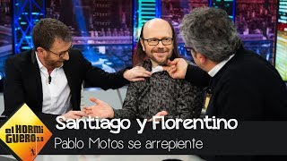 El arrepentimiento de Pablo Motos sobre el despido de Santiago Segura - El Hormiguero 3.0