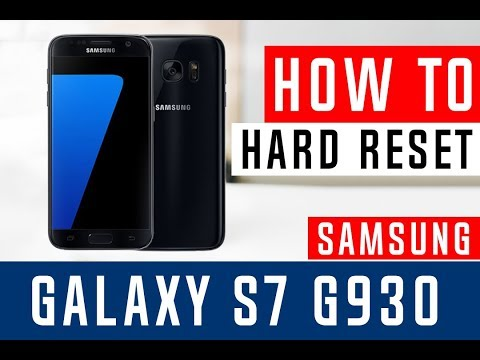How To Hard Reset Samsung Galaxy S7 G930V Verizon - Swopsmart