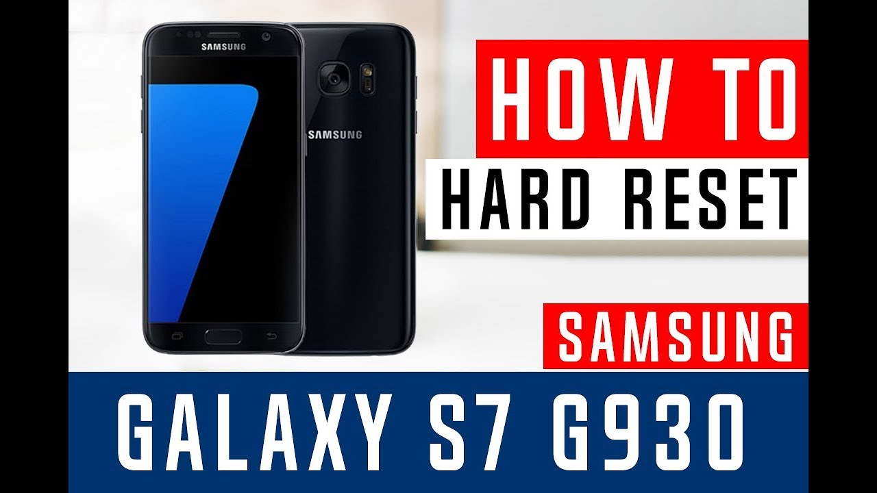 How To Hard Reset Samsung Galaxy s7 G930T T-Mobile - Swopsmart