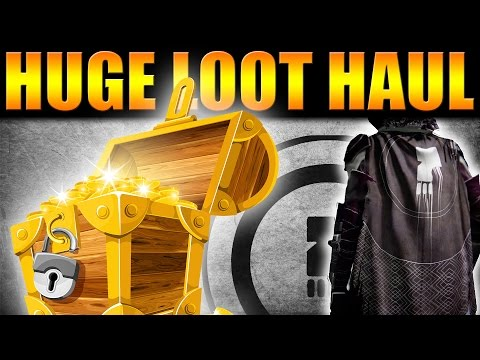 Destiny | HUGE LOOT HAUL - HOW TO LEVEL FACTIONS FAST! 0-25 IN A DAY!