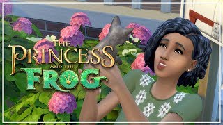 ADOPTING A KITTEN! // The Sims 4: Princess & The Frog #4