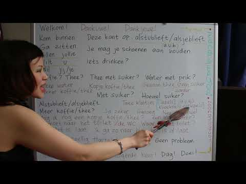 LEARN DUTCH/ NETHERLANDS & BAHASA INDONESIA #65 VISITING SOM