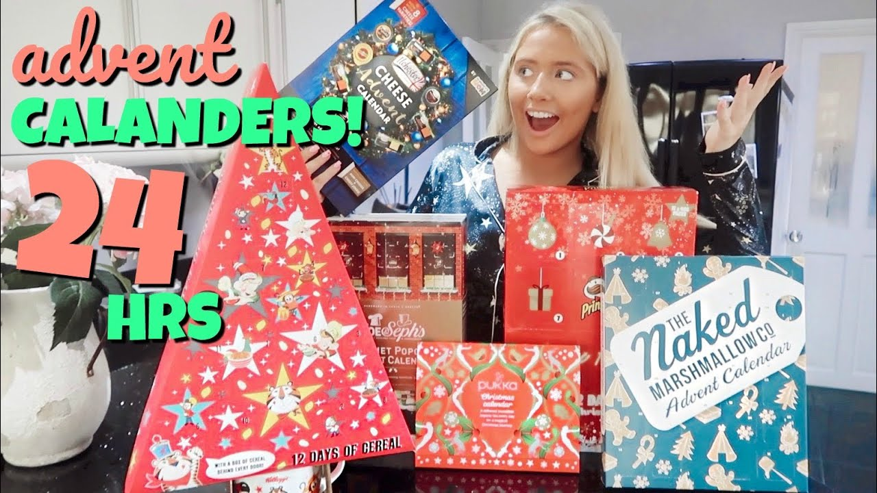 I only ate ADVENT CALENDAR foods for 24hours!! image