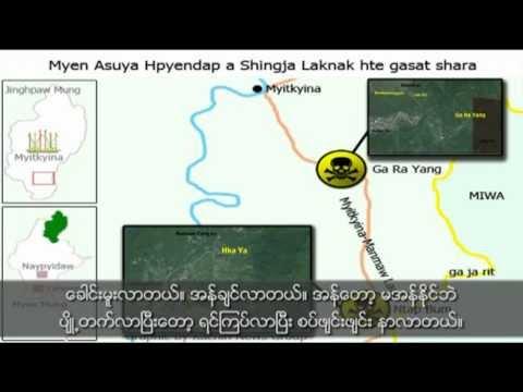 Burma uses Chemical Weapons against Kachin rebel