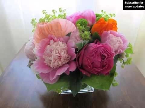 Peony Bouquet Vase Picture Ideas For Wedding Peony Bouquet Vase