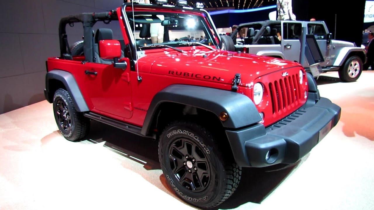 2014 Jeep Wrangler Rubicon Diesel Exterior Walkaround 2013