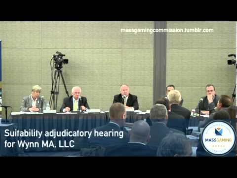 MGC Meeting 12.16.13 (Part 2): Suitability Adjudicatory Hearing for Wynn MA, LLC