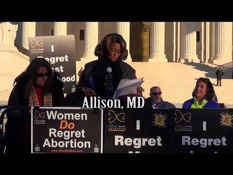 Allison's 2018 March for Life Testimony