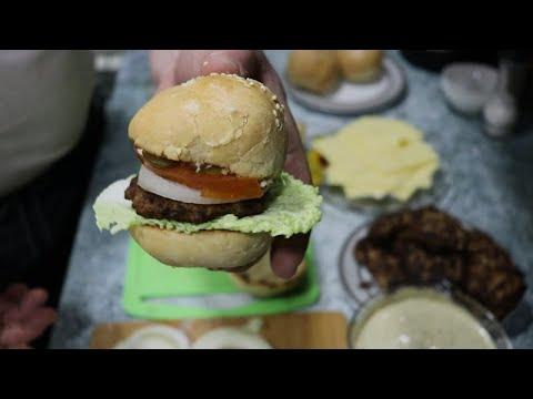 Мега вкусный БУРГЕР Зауральский по домашнему рецепту