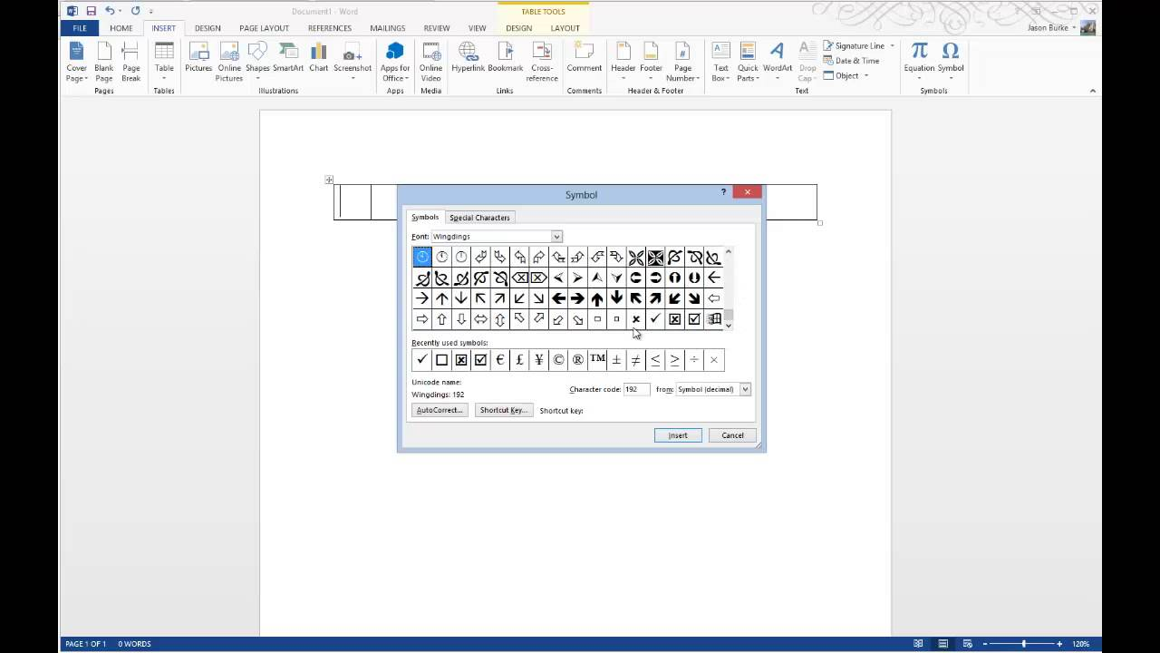 How to insert check marks into microsoft word documents youtube buycottarizona Image collections