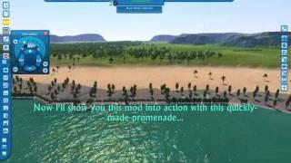 Cities XL Custom Content - Promenade Pack.wmv