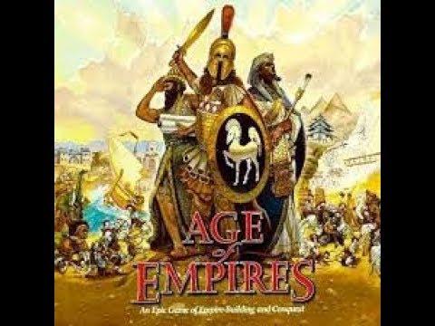 Como Jugar Age Of Empires 1 sin cd  crack en la descripción (Grabado a cámara)