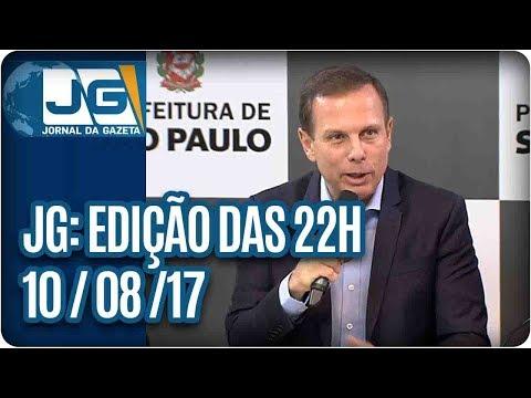 Jornal Gazeta - Edição das 10 - 10/08/2017