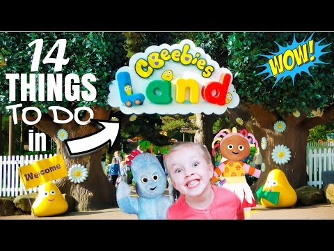 14 Things TO DO in CBeebies Land Full Tour with All Rides Alton Towers