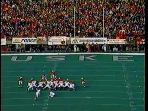 Nebraska football 1993 statistics