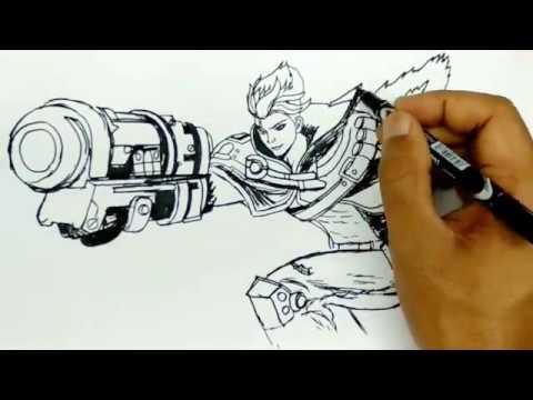 58 Koleksi Gambar Hero Ml Menggunakan Pensil Gratis Terbaru