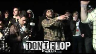 DON'T FLOP - Rap Battle - Sensa Vs Redzer