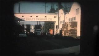 Historic San Jose California Cannery - 1962 8mm Home Movie