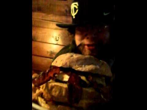 Mike Davison Chuck Norris burger