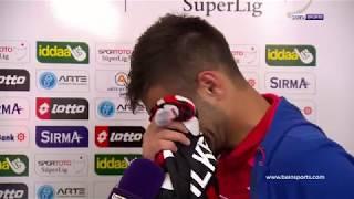 Gençlerbirliği Futbolcusu Maç Bitiminde Hüngür Hüngür Ağladı.
