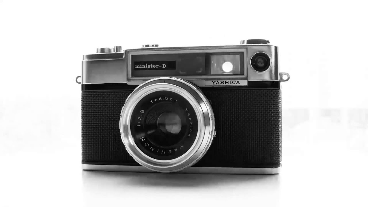 Yashica Minister D 1963 - YouTube