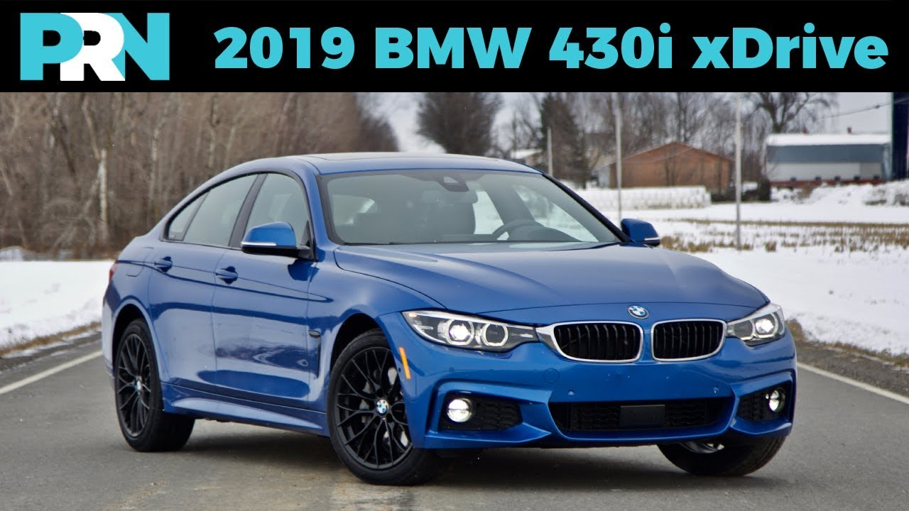 2019 Bmw 430i Xdrive Gran Coupé Winter Review Driving Youtube