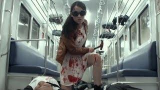 Кровавая бойня в метро.Сцена из фильма Рейд 2.\Massacre in the subway.The Raid 2