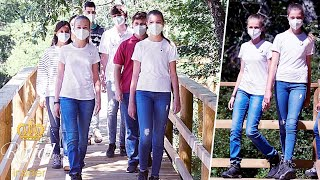 Princesses Leonor, 15, and Sofia, 14, undertake first joint outing without parents   Royal Insider