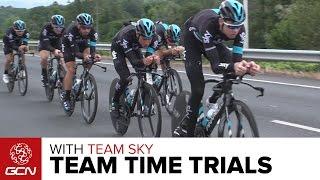 Team Sky: The Art & Science Of A Team Time Trial | Vuelta A España 2016