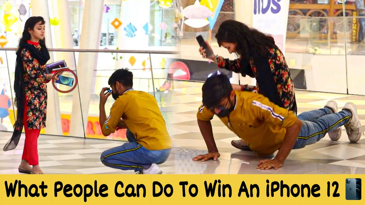 WHAT YOU CAN DO TO WIN AN IPHONE 12 PRO MAX? | Prank in Pakistan