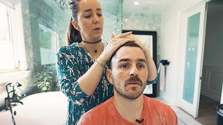 Как подстричь волосы дома ! - Дженна Марблс